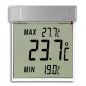 Preview: Digitales Fensterthermometer TFA Vision Außenthermometer, abnehmbar, selbstklebend