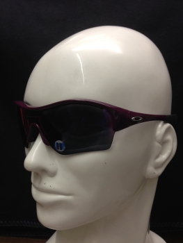 Oakley ENDURE Edge Damson Positive Red Iridium Polarized DAMEN