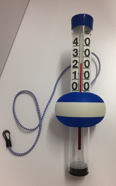 Schwimmbadthermometer Pool Thermometer Teichthermometer groß NEPTUN